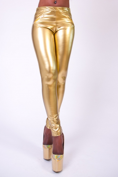 Vinyl Leggings SUPERSHINE! GOLD