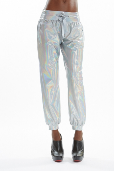 Holographic pants LEILA